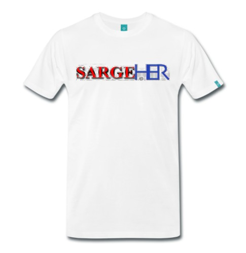 Sarge HER Logo Design T-Shirt.