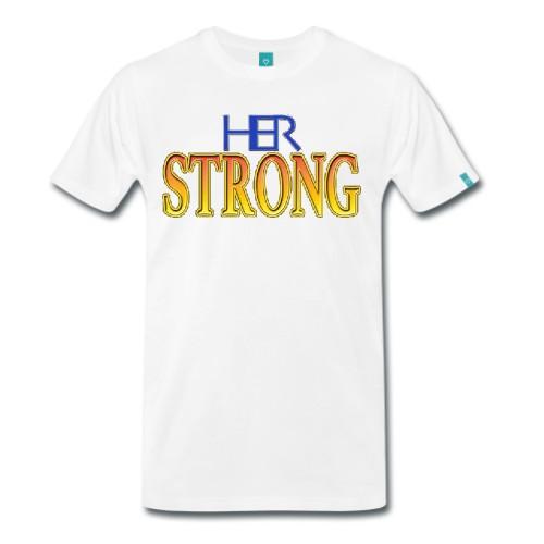 Strong HER Logo Design T-Shirt